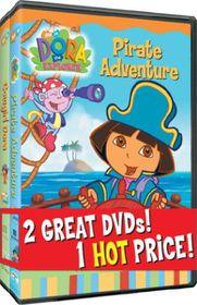 Dora the Explorer - Pirate Adventure/Cowgirl Dora - (Region 1 Import DVD)