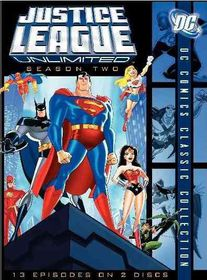 Justice League Unlimited - The Complete Second Season - (Region 1 Import DVD)