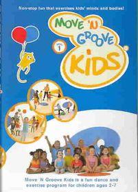 Move N Groove Kids Vol 1 - (Region 1 Import DVD)