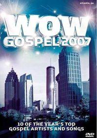 WOW Gospel 2007 - Various Artists (DVD)