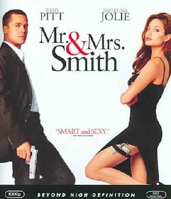 Mr. & Mrs. Smith - (Region A Import Blu-ray Disc)