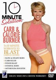 10 Minute Solution: Carb and Calorie Burner - (Import DVD)
