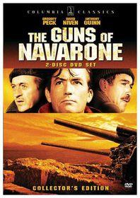 Guns of Navarone - (Region 1 Import DVD)