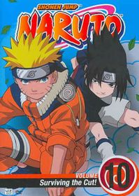 Naruto Vol 10:Surviving the Cut - (Region 1 Import DVD)