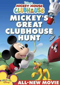 Disney's Mickey Mouse Clubhouse: Mickey's Great Clubhouse Hunt - (Region 1 Import DVD)