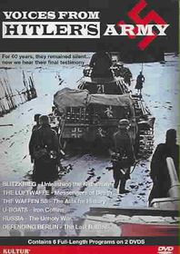 Voices from Hitlers Army - (Region 1 Import DVD)