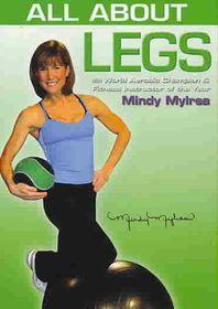 Mindy Mylrea:All About Legs - (Region 1 Import DVD)