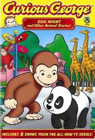 Curious George: Zoo Night and Other Animal Stories - (Region 1 Import DVD)