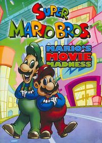 Super Mario Brothers: Mario's Movie Madness - (Region 1 Import DVD)