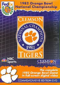 1982 Orange Bowl National ChampionshipClemson Tigers vs. Nebraska Huskers - (Region 1 Import DVD)