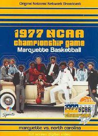 1977 NCAA Championship Game - Marquette Vs. North Carolina - (Region 1 Import DVD)
