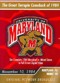 1984 Maryland Vs Miami - (Region 1 Import DVD)