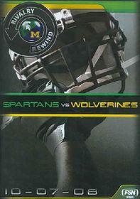Rivalry Rewind - Wolverines Vs. Spartans - (Region 1 Import DVD)