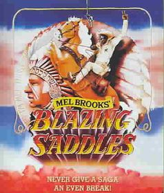 Blazing Saddles - (Region A Import Blu-ray Disc)