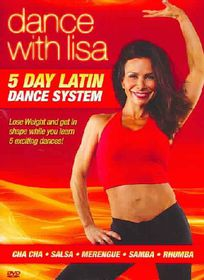 Dance With Lisa - 5 Day Latin Dance System - (Region 1 Import DVD)