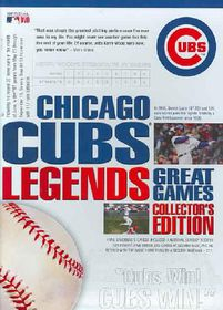 Chicago Cubs Legends: Great Games Collector's Edition - (Region 1 Import DVD)