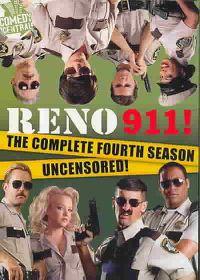 Reno 911!: The Complete Fourth Season Uncensored! - (Region 1 Import DVD)