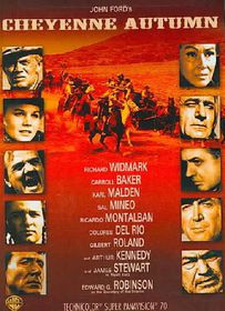 Cheyenne Autumn - (Region 1 Import DVD)