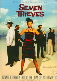 Seven Thieves - (Region 1 Import DVD)