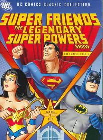 Superfriends: The Legendary Super Powers Show - (Region 1 Import DVD)