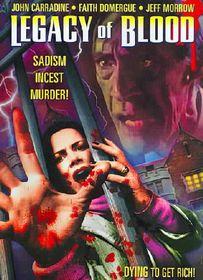 Legacy of Blood (Aka Blood Legacy) - (Region 1 Import DVD)