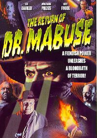 Return of Doctor Mabuse - (Region 1 Import DVD)
