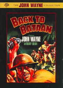 Back to Bataan - (Region 1 Import DVD)