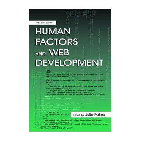 human factors and web development ratner julie