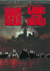 Dawn of the Dead/Land of the Dead - (Region 1 Import DVD)