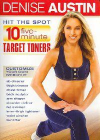 Denise Austin - Hit the Spot: 10-Five Minute Target Toners - (Region 1 Import DVD)