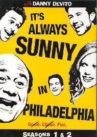 It's Always Sunny In Philadelphia Season 1 & 2 - (Region 1 Import DVD)