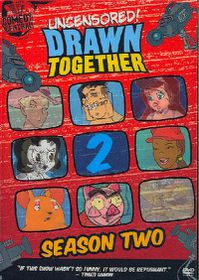 Drawn Together Uncensored:Season Two - (Region 1 Import DVD)