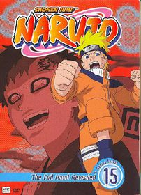 Naruto Vol 15:Evil Hand Revealed - (Region 1 Import DVD)