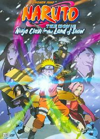 Naruto the Movie - Ninja Clash in the Land of Snow - (Region 1 Import DVD)