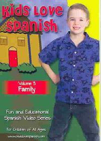 Kids Love Spanish Vol 3:Family - (Region 1 Import DVD)