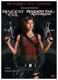 Resident Evil/Resident Evil: Apocalypse - (Region 1 Import DVD)