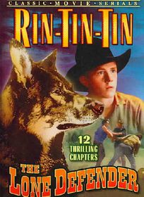 Rin Tin Tin: Lone Defender (Chapters 1-12) - (Region 1 Import DVD)
