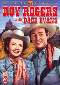 Roy Rogers with Dale Evans Vol 3 - (Region 1 Import DVD)