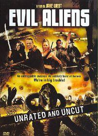 Evil Aliens - (Region 1 Import DVD)