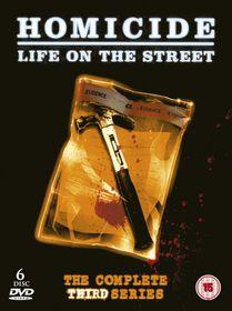 Homicide: Life on the Street - Season 3 - (Import DVD)