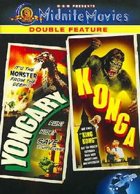 Yongary Monster from the Deep/Konga - (Region 1 Import DVD)