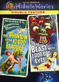 Phantom From 10,000 Leagues/The Beast Within A Million Eyes - (Region 1 Import DVD)