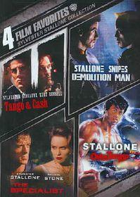 4 Film Favorites:Sylvester Stallone - (Region 1 Import DVD)