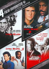 4 Film Favorites:Lethal Weapon - (Region 1 Import DVD)