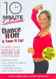 10 Minute Solution: Dance it Off & Tone It Up - (Region 1 Import DVD)