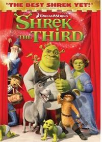 Shrek the Third - (Region 1 Import DVD)