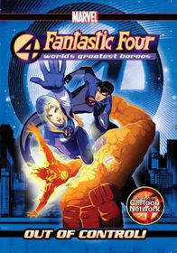 Fantastic Four: World Of Heroes - Out Of Control (Animated) - (DVD)
