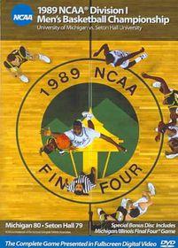 1989 Michigan Vs Seton Hall - (Region 1 Import DVD)