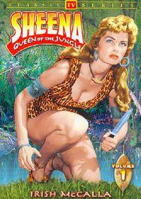 Sheena Queen of the Jungle Vol 1 - (Region 1 Import DVD)