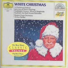 Arthur Fiedler & The Boston Pops - White Christmas (CD)
